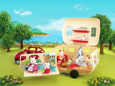 Sylvanian Families Calico Critters The Caravan Family Camper