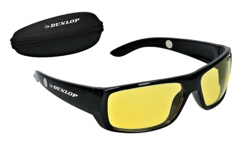 2x Autofahrer Nachtsichtbrille Kontrastbrille Nachtfahrbrille Dunlop Autobrille