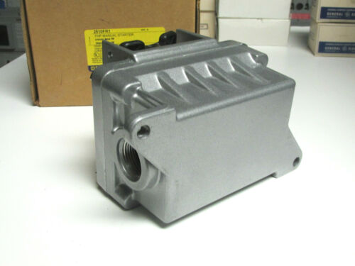 Square D FHP Manual Starter Cat# 2510FR1  . VH-75 * NIB .