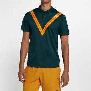 quite nice latest discount the latest Détails sur Nike Homme Roger Federer RF Escarpin Avantage Tennis Polo Grand  Épargner