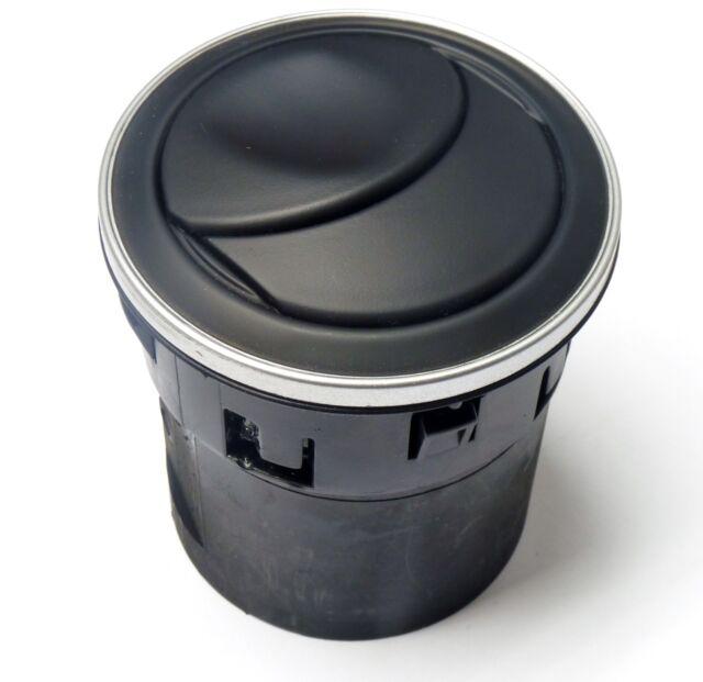 New & Genuine Alfa GTV & Spider central air vent in black & chrome 113338560