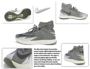0bf1dffdf64e Men s NIKE Zoom HyperRev Kyrie Irving Gray Basketball Sneakers Size ...