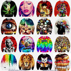 Popular Men Women 3D T Shirt Print Hoodie Sweater Sweatshirt Pullover Top Jumper