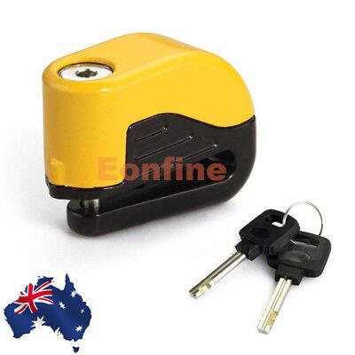 Brake Disc Lock with Alarm Yamaha Tricity