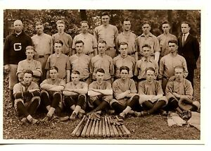 Baseball Sports Team-Greensboro-North Carolina-Old Picture on Modern Postcard