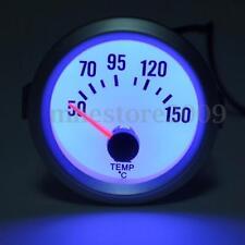 2'' 52mm Electrical Digital Oil Temp Temperature Gauge Blue LED 50-150℃ Celsius