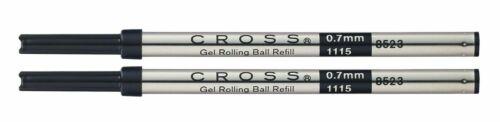 Black Pack of 2 Cross Rollerball Gel Refill