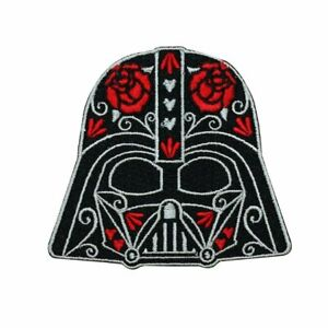 Disney-Star-Wars-Cute-Darth-Vader-Calavera-Patch-Officially-Licensed-Iron-On