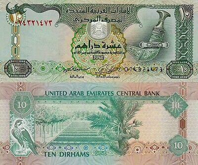 United Arab Emirates 10 Dirhams (2009) - Dagger/Hawk/p27a UNC   eBay