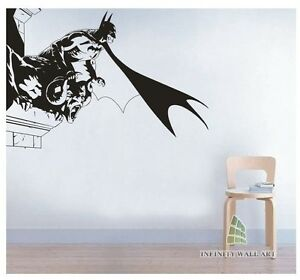 Image Is Loading Batman Wall Art Decal UNI Design Wall Decals