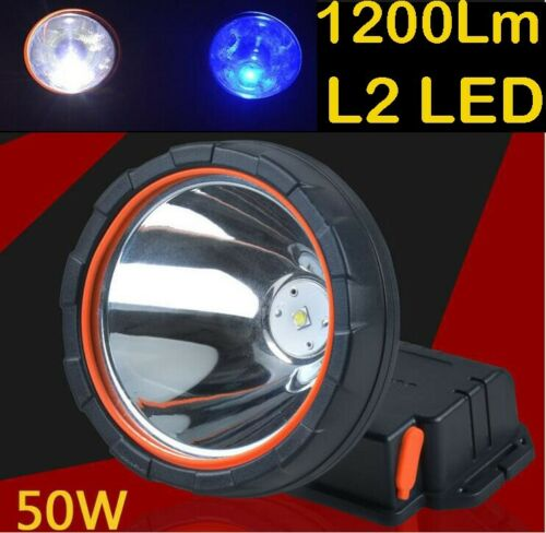 Rechargeable LED Light Headlight Mining Lamp Hunting Fishing Hiking Outdoor Spor