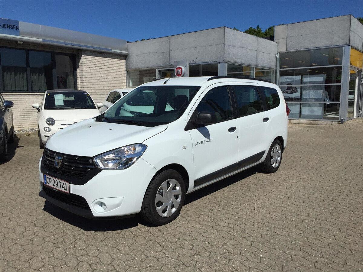 Dacia Lodgy 1,3 TCe 100 Streetway 7prs 5d - 159.900 kr.