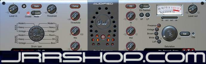 Audified DW Drum Enhancer Plugin eDelivery JRR Shop