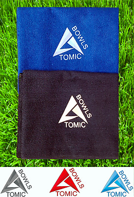 Crown Large Microfibre Cleaning Cloth Lawn Bowling Bowls Excuse Green