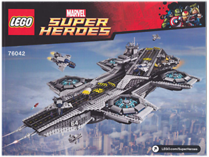 LEGO-Marvel-Agents-Of-Shield-76042-Shield-Helicarrier-No-Box-Sealed-Contents