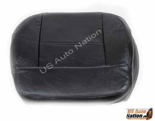 2006-2007 Ford F-150 Lariat FX4 XLT FX2 Driver Bottom Leather Seat Cover Black