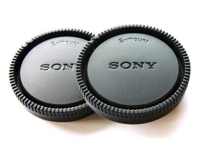 UK SELLER 2 x Rear Lens Caps Covers for Sony NEX-3N NEX-7 E-Mount SONY Style