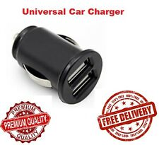Mini Dual USB Twin Port 12V In Car Lighter Socket Charger Adapter plug Universal