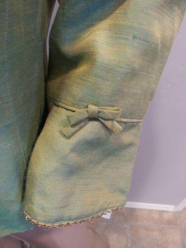 color metallizzata Gold metallizzata Nanette Marcus Neiman verde Giacca Lepore cangiante HnqUZ