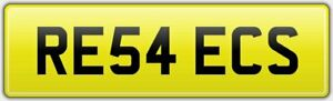 REECE-039-S-CAR-REG-NUMBER-PLATE-RE54-ECS-ALL-FEES-INCLUDED-REECIE-REECE-REECEY-REE