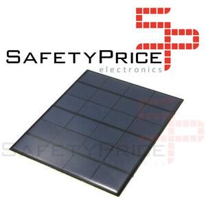 6V-3-5W-Panel-Solar-Arduino-DIY-DC-Cargador-Fotovoltaico-Celula-165x135mm