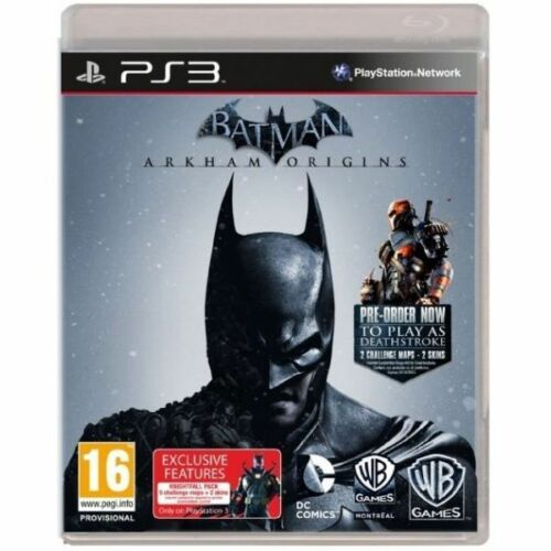 1 of 1 - Batman: Arkham Origins (Sony PlayStation 3, 2013) - European Version new sealed