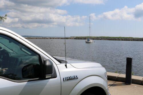 """21/"""" Black Spring Stainless AM//FM Antenna Mast Fits 2001-2008 Toyota RAV4"""
