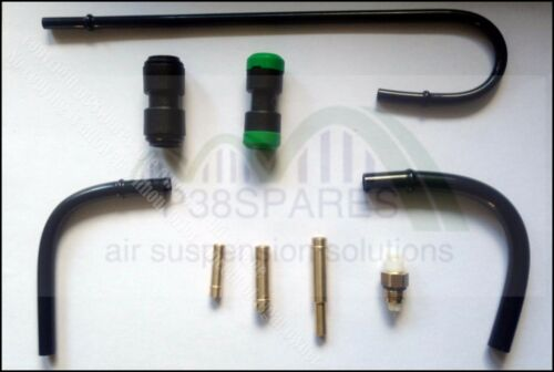 LAND ROVER DISCOVERY 4 IV HITACHI AIR SUSPENSION COMPRESSOR PIPE FITTING KIT
