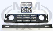 Defender LED Lamp Kit, KBX Grille and Bumper Conversion