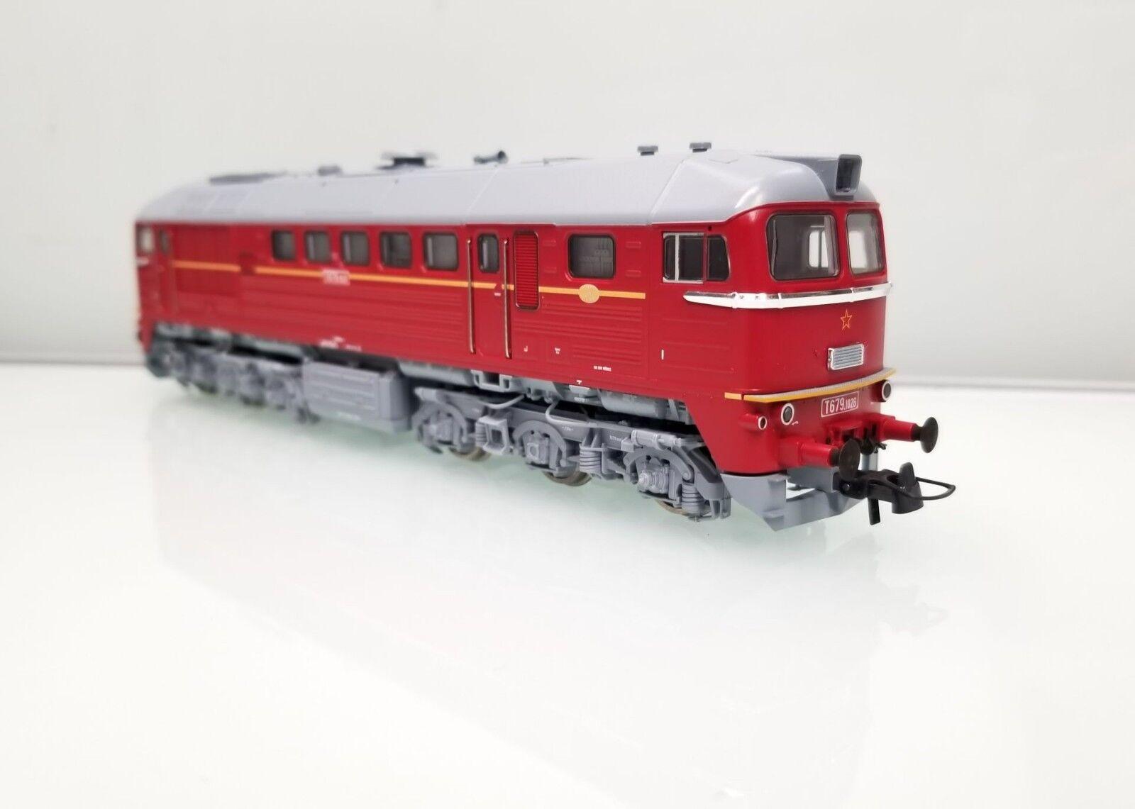 Roco 73804 diesellok taigatrommel t679 CSD época III-IV nuevo embalaje original