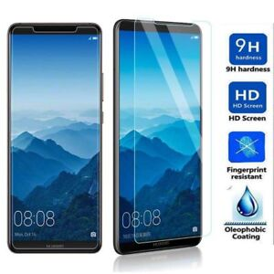 2018-TEMPERED-GLASS-SCREEN-PROTECTOR-COVER-FOR-HUAWEI-P-Smart-MATE10-Pro