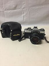 Minolta XD11 Camera w/ MD Rokkor-X f/1.4 50 mm Lens