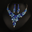Fashion-Crystal-Pendant-Bib-Choker-Chain-Statement-Necklace-Earrings-Jewelry thumbnail 153