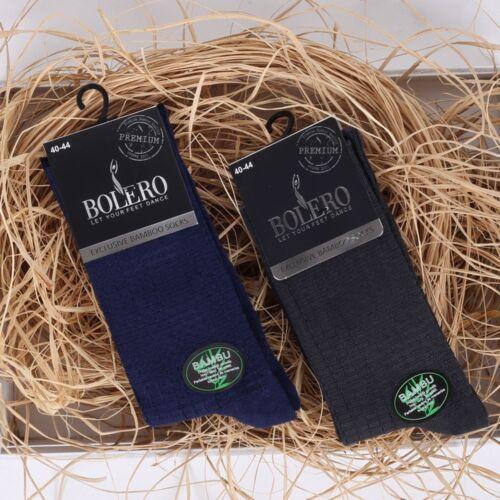 Men/'s Dress Crew Socks Bamboo Business Casual Black Gray 3 Pcs Seamless Socks