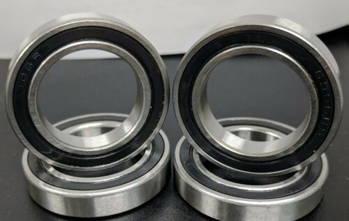 4 6906-2RS Premium EMQ Ball Bearing 30x47x9mm Double Seal 6906-RS 61906-2RS