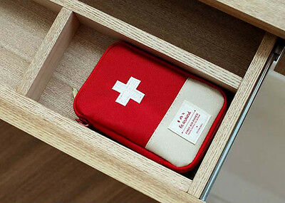 First Aid Pouch - Bag Only - Travel Outdoor Emergency First Aid Organizer Bag