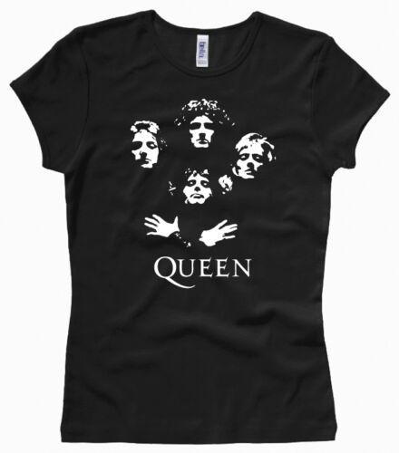 QUEEN Freddie Mercury XS bis XL Woman // Female T-Shirt Girl Gr
