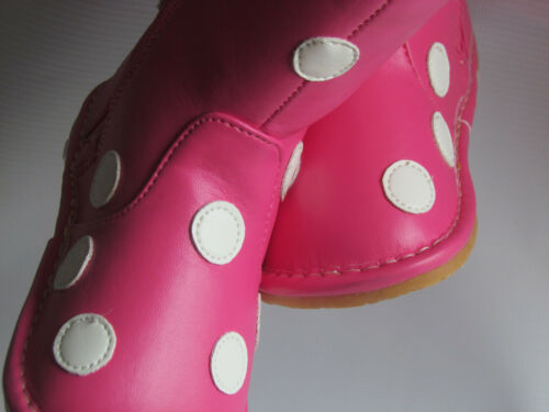 Hot Pink with White Dots Up to Toddler Size 7 Toddler Boots Squeaky Boots