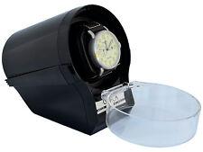 Watch Winder  Case Box Storage Timer  Automatic  glossy  Black CIRCA