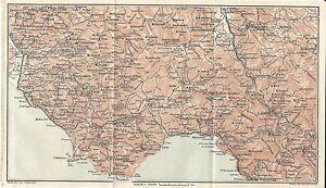 Cartina Stradale Cilento.Carta Geografica Antica Cilento E Lagonegro Tci 1928 Old Antique Map Ebay