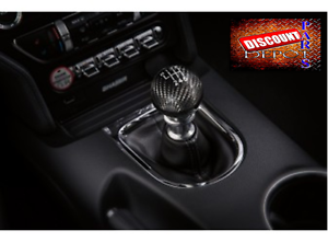 2015-2020  Ford Mustang Carbon Fiber Shift Knob Factory Genuine Accessory