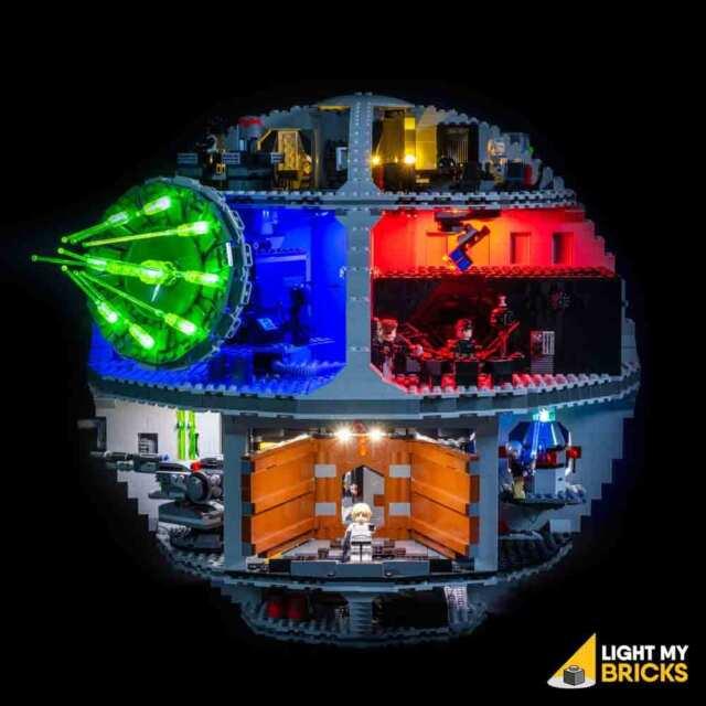 LIGHT MY BRICKS - LED Light kit for LEGO Star Wars Death Star 75159 Lego Lights