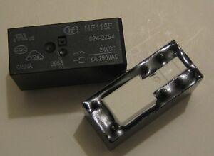 Rele-HF115F-024-2ZS4-HONGFA-miniature-high-power-relay-24VDC-250VAC-8A-relais