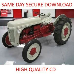 image is loading 1939-1953-ford-2n-8n-9n-tractor-manuals-