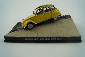 Modellauto-1-43-James-Bond-007-Citroen-2-CV-for-your-eyes-only-Nr-5