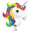 MAGICAL-UNICORN-Birthday-Party-Range-Tableware-Balloons-Supplies-Decorations miniatuur 27