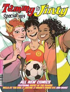 Tammy-amp-Jinty-Especial-2019-Nm-1st-Estampado-2000AD-Rebellion-Comics