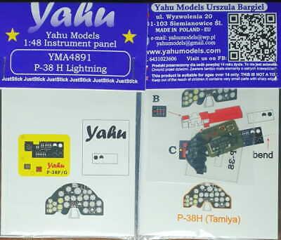 YAHU YMA4890 MB.152 1//48 Instrument panel