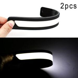 2PCS-DRL-LED-Coche-Auto-Luces-De-Circulacion-Diurna-Conduccion-Bombillas-de-luz-antiniebla-Luz-UK