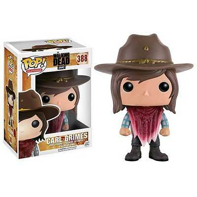 The Walking Dead - Carl Grimes (poncho) Pop! Vinyl Figure NEW Funko